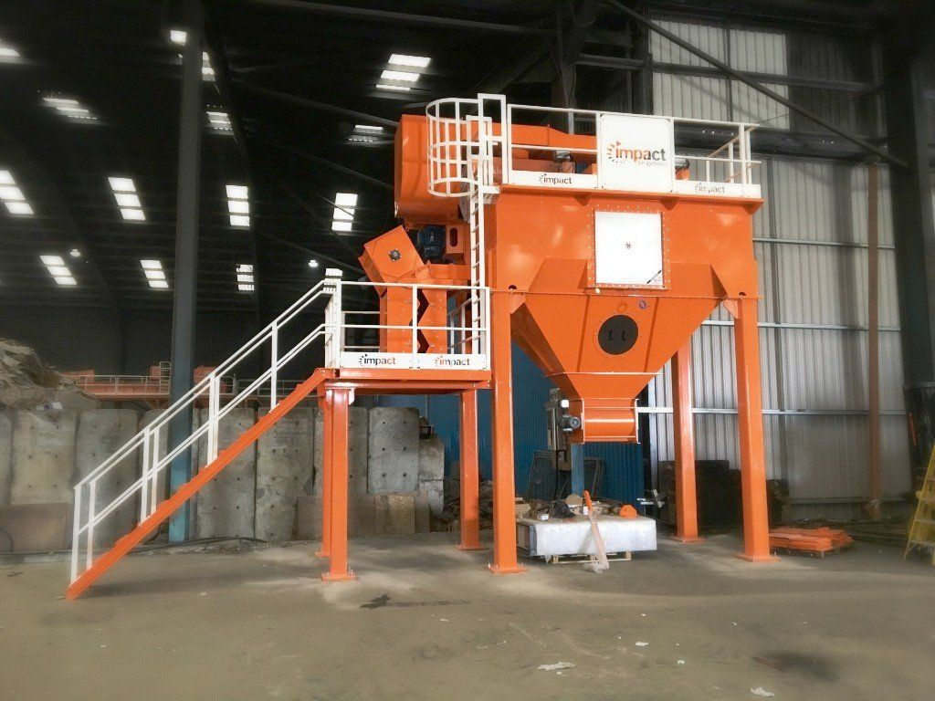 <h2>ZigZag Air Classification </h2><p>Here at KR, we have manufactured and powder coated all of this Zigzag Air Classification (ZAC 800) waste sorting system on behalf of Impact Air Systems. It is the very latest version of the tried and tested Zigzag separation technology, which you will find in operation in many applications in waste recycling facilities around the world. If you want some more information on this new technology check out Impact Air Systems website! www.impactairsystems.com</p>